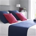 Diamond Quilted Bed Runners Navy