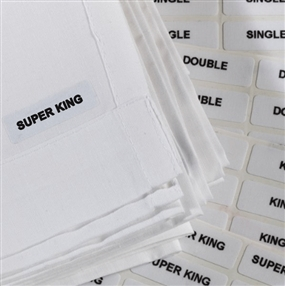 Iron on Labels - Super King
