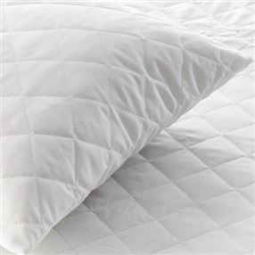 Classic Quilted Pillow Protector with Zip