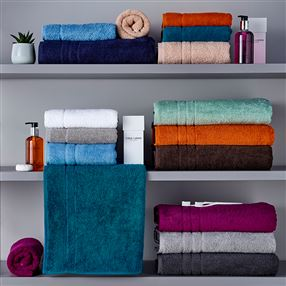 Out of Eden 500g Hotel Towels & Facecloths Silver Grey