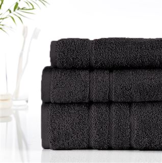500g Hotel Towels & Facecloths Anthracite