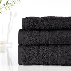 Classic Cotton Towels and Face Cloths 500g Anthracite
