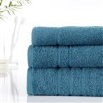 500g Hotel Towels & Facecloth Petrel Blue