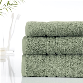 Hotel Towel 500g / Green / Face Cloth