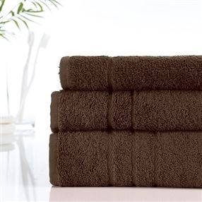 500g Hotel Towels & Facecloths Mocha