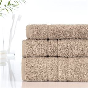 Classic Cotton Towels and Face Cloths 500g Latte
