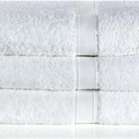 Egyptian Combed Cotton 650g White Face Cloth