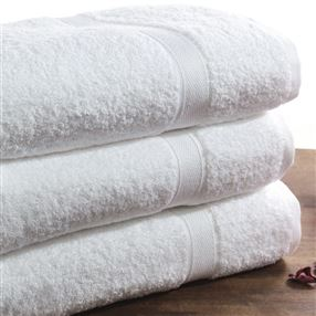 Luxury Egyptian Cotton Towels and Face Cloths 650g White