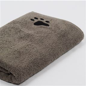 Dog Towel Taupe