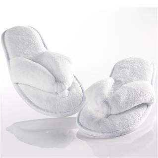Microfibre Flip Flop Hotel Slippers