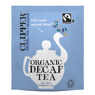 Clipper Organic Decaffeinated Tea, String and Tag