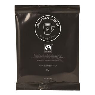 Fair Trade Colombian Coffee Cafetiere 15g Sachet