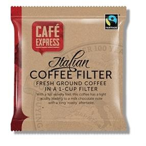 Cafe Express Roast and Ground Coffee Sachets
