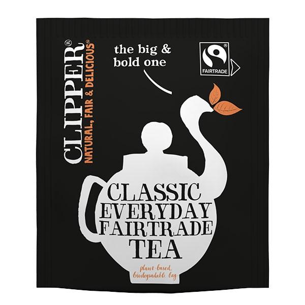 fair trade clipper tea bags hotel supplies out of eden. Black Bedroom Furniture Sets. Home Design Ideas
