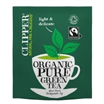 Clipper Fairtrade Organic Green Tea Bags