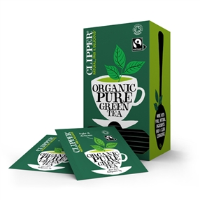 Clipper Clipper Fairtrade Organic Green Tea Bags