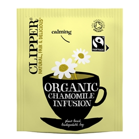 Clipper Fairtrade Organic Chamomile Tea Bags