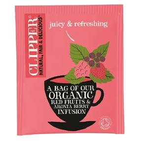 Clipper Organic Red Fruits and Aronia Berry Tea Bags