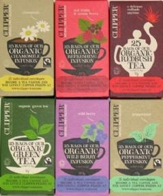 Clipper Fairtrade Tea Small Pack Selection Box