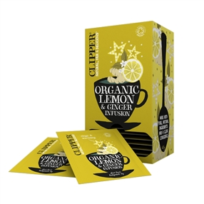 Clipper Clipper Organic Lemon & Ginger Tea