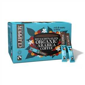 Clipper Clipper Fairtrade Organic Instant Freeze Dried Coffee Sticks