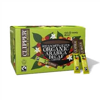 Clipper Clipper Fairtrade Organic Instant Freeze Dried Decaffeinated Coffee Sticks