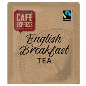 Cafe Express Fairtrade English Breakfast Tea Pack of 60