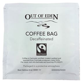 Fairtrade Decaff Coffee Bag Pack of 50