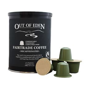 Compostable Fairtrade Decaff Espresso Pods