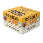 Border Biscuit Twin Packs of 100 in Five Varieties