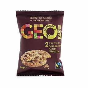 Geo Bakes Fairtrade GEO Bakes Twin Pack Biscuits
