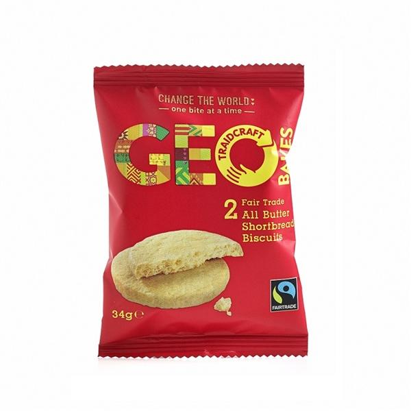 Fairtrade Geo Bakes Twin Pack Biscuits Out Of Eden