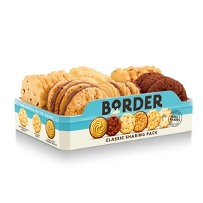 Border Biscuits Sharing Pack 400g Pack of 4