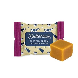 Buttermilk Fudge Portions 15g Assorted