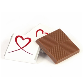 Red Heart Neapolitan Milk Chocolates