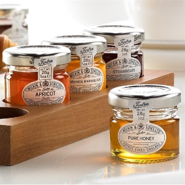 Tiptree small jars of Jam, Marmalade, Lemon Curd or Honey
