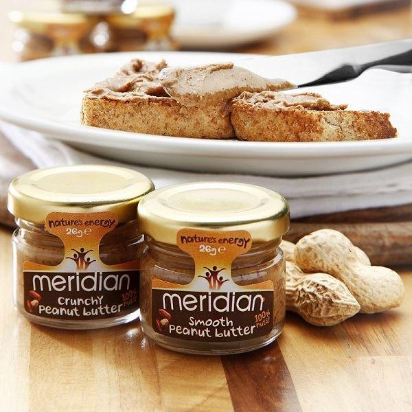 Meridian Peanut Butter 26g Mini Jar - Out of Eden