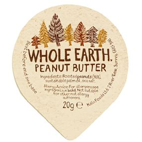 Whole Earth Peanut Butter 20g Portion Pack Of 40