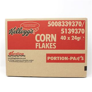 Kelloggs Kelloggs Cornflakes Single Portions - Pack of 40