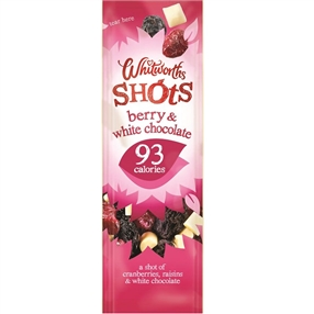 Whitworth 25g Shots Berry & White Chocolate Pack of 16
