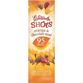 Whitworth 25g Shots Orange & Chocolate Seed Pack of 16