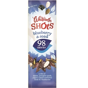 Whitworth 25g Shots Blueberry & Seed Pack of 16
