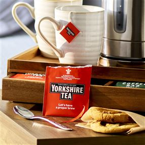 Yorkshire Tea Individually Tagged & Wrapped