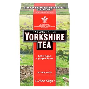 Taylors Yorkshire Tea Individually Tagged & Wrapped