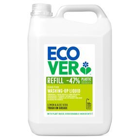 Ecover Washing Up Liquid Lemon Aloe Vera 5 litre
