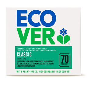 Ecover Dishwasher Tablets Xl, 20g X 70 One
