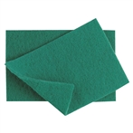 Heavy Duty Green Scourers, Pack of 10