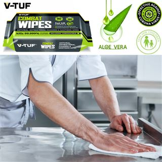 V TUF V-TUF Anti-Viral and Anti-Bacterial Wipes