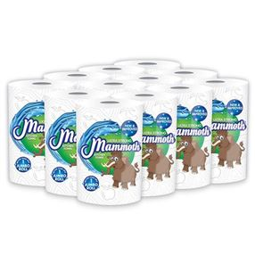 Mammoth Kitchen Roll, Pack of 12