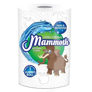 Mammoth Jumbo Kitchen Roll, Pack of 12